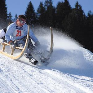 Horned Sled Race