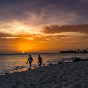 Sunset in Aruba