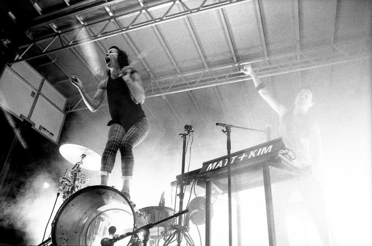 Matt & Kim on Kodak P3200