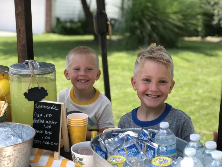 Laughter and Lemonade Stands